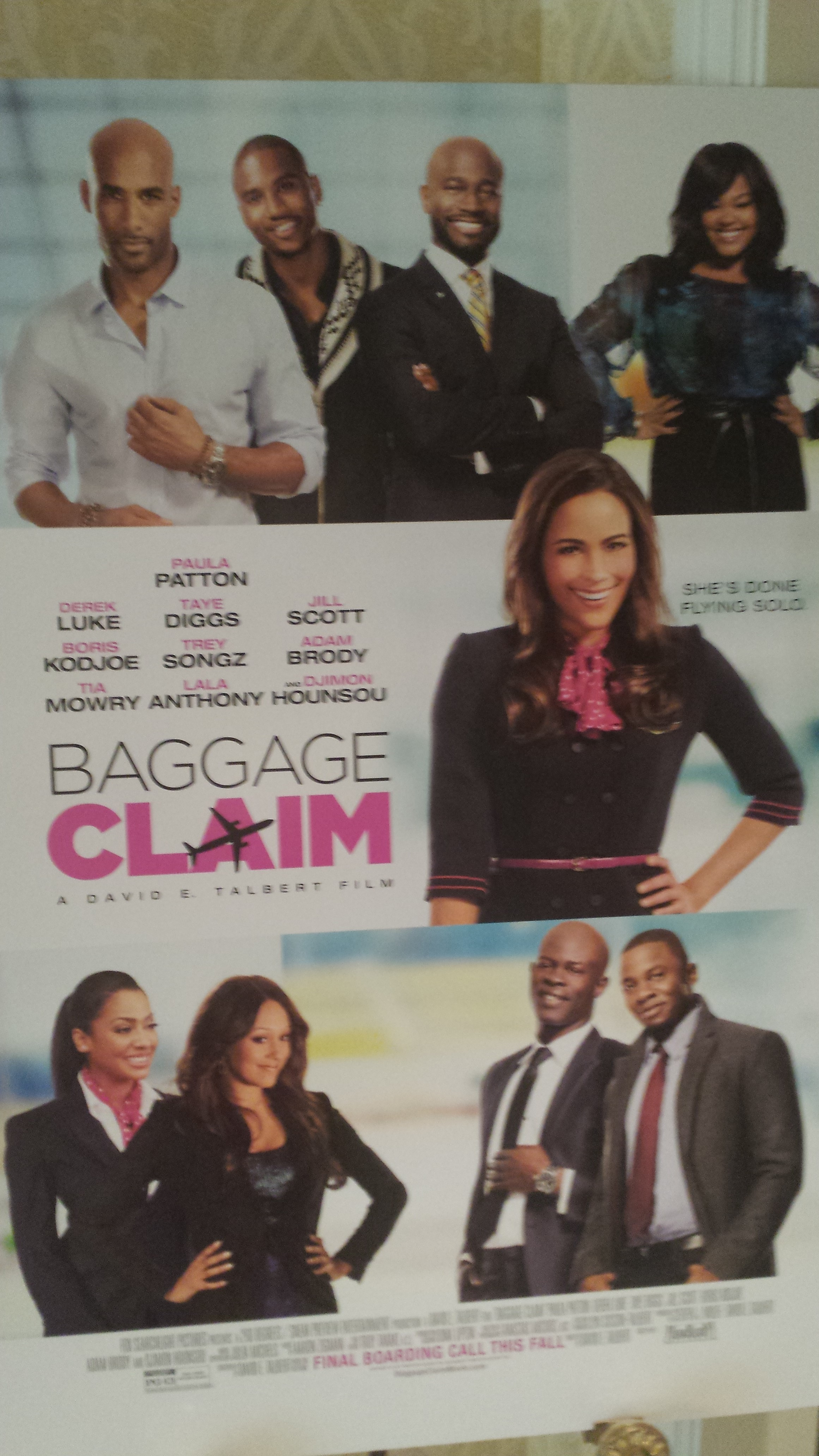 Baggage claim press junket ashley caprice bc poster ccuart Image collections
