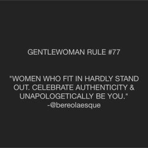 gentlewoman 5
