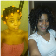 flat twist with rollers