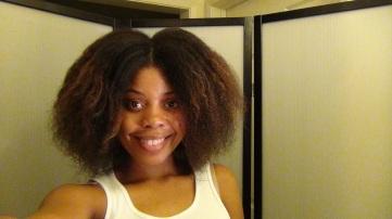 Detangled Hair