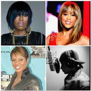 Women hip hop collage